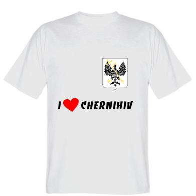 Футболка I love Chernihiv