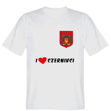 Футболка I love Chernivci