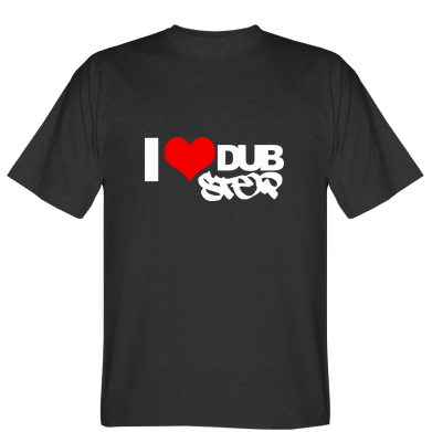 Футболка I love Dub Step