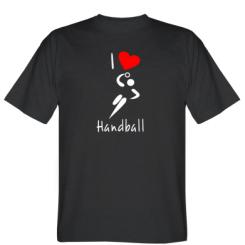 Футболка I love handball 2