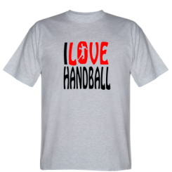 Футболка I love handball 3