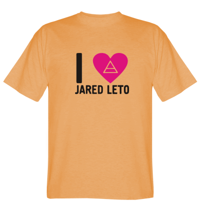 Футболка I love Jared Leto