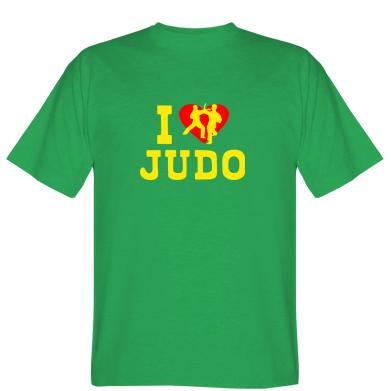 Футболка I love Judo