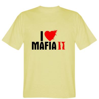 Футболка I love Mafia 2
