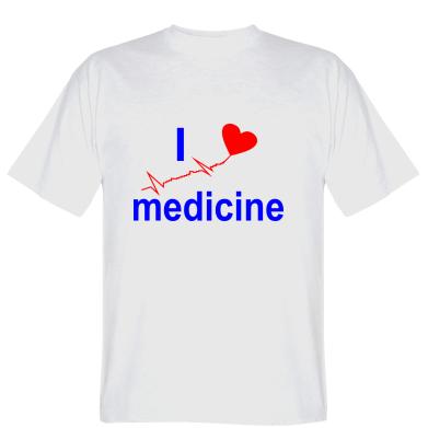 Футболка I love medicine