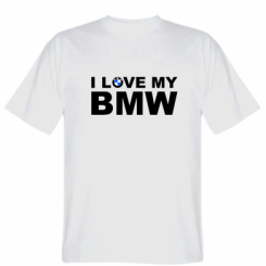 Футболка I love my BMW