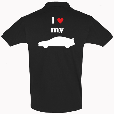 Купити Футболка Поло I love my car