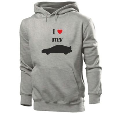 Купити Толстовка I love my car