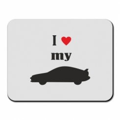 Купити Килимок для миші I love my car