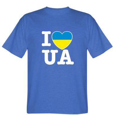 Футболка I love UA