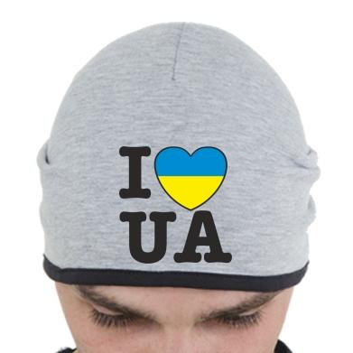 Шапка I love UA