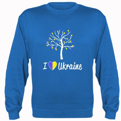 Купити Реглан I love Ukraine дерево