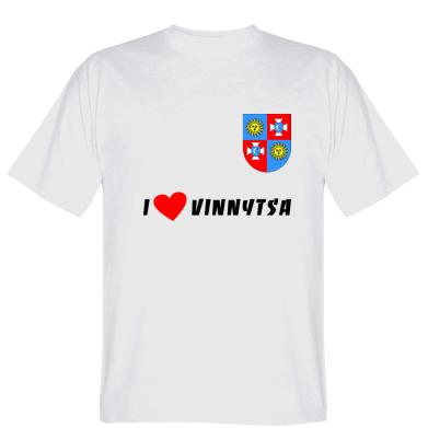 Футболка I love Vinnytsa