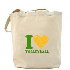 Купити Сумка I love volleyball