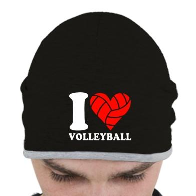 Купити Шапка I love volleyball