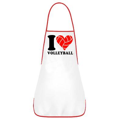 Купити Фартуx I love volleyball