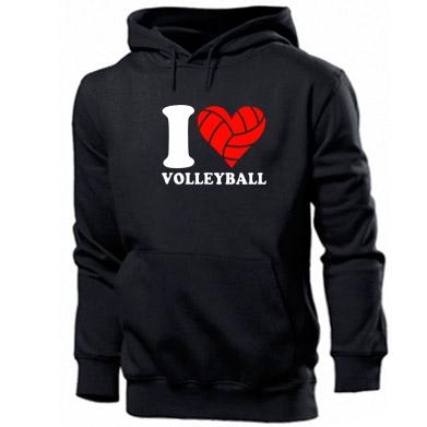 Купити Толстовка I love volleyball