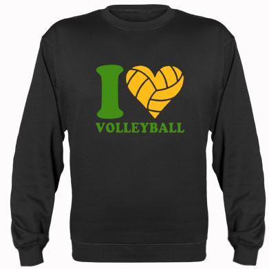 Купити Реглан I love volleyball
