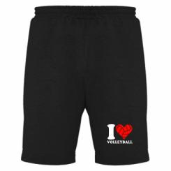 Купити Чоловічі шорти I love volleyball