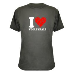 Купити Камуфляжна футболка I love volleyball