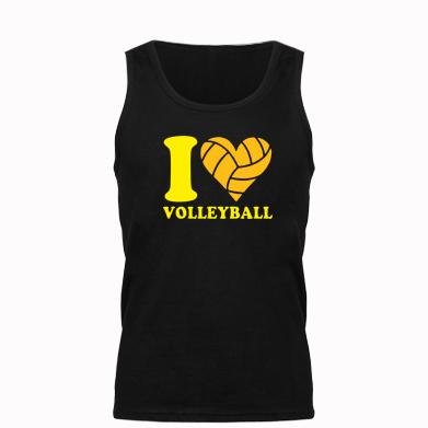 Купити Майка чоловіча I love volleyball