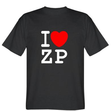 Футболка I love ZP