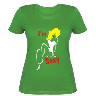 Жіноча футболка i'm Sexy