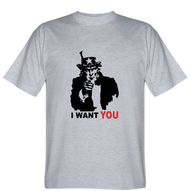 Футболка I want you (uncle Sam)