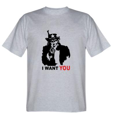 Футболка I want you (uncle Sam)