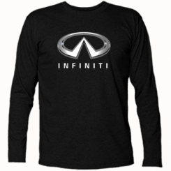 Футболка з довгим рукавом Infinity Logo 3D