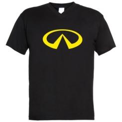Купити Чоловічі футболки з V-подібним вирізом Infinity