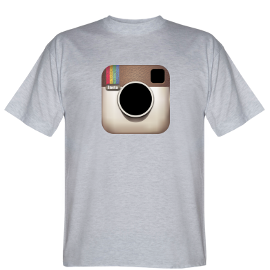 Футболка Instagram Logo