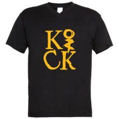 Купити Чоловічі футболки з V-подібним вирізом Invincible tricking