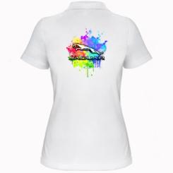 Жіноча футболка поло Jaguar Art