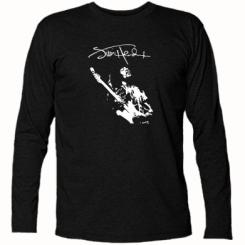 Футболка с длинным рукавом Jimi Hendrix афтограф