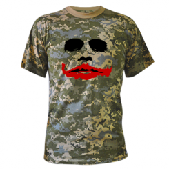 "Купити Камуфляжна футболка ""Joker Face"""