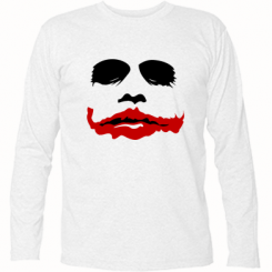 "Купити Футболка з довгим рукавом ""Joker Face"""
