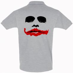 "Купити Футболка Поло ""Joker Face"""