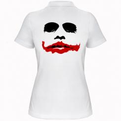 """Купити Жіноча футболка поло """"Joker Face"""""""