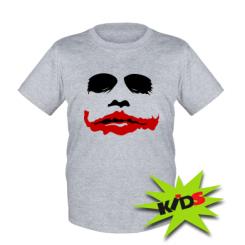 "Купити Дитяча футболка ""Joker Face"""
