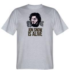 Футболка Jon Snow is alive