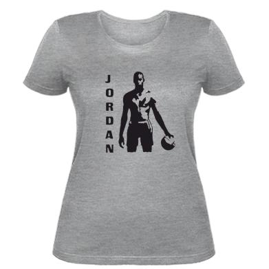 Женская футболка Jordan - купить в Киеве, лучшая цена в Украине ... 9e4282b108d