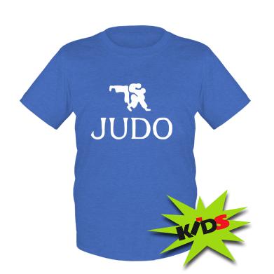 Детская футболка Judo
