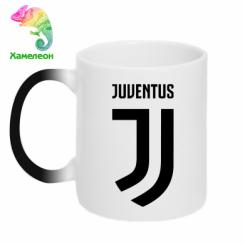 Кружка-хамелеон Juventus Logo