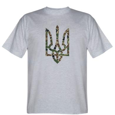Футболка Камуфляжный герб Украины