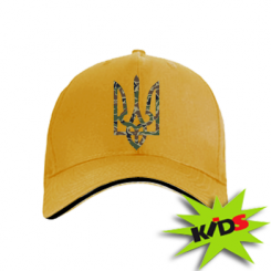 Купити Дитяча кепка Камуфляжний герб України