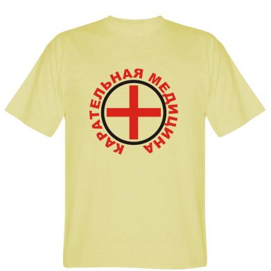 Футболка Каральна медицина лого