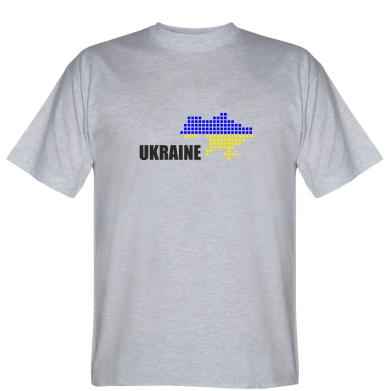 Футболка Карта Україна