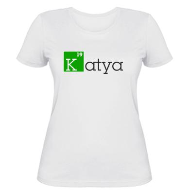 Жіноча футболка Katya