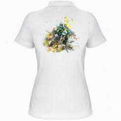 Жіноча футболка поло Kawasaki Art